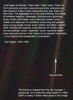 Carl Sagan Quote...