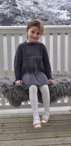 27044771_10159976577650327_1596117429_n Knitting Patterns Free, Knit Patterns, Free Knitting, Girls Knitted Dress, Knit Dress, Winter Kids, Winter Colors, Baby Dress, My Design