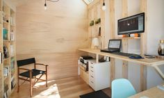 Architect builds a tiny studio in his backyard to be closer to his child | Inhabitat - Green Design, Innovation, Architecture, Green Building