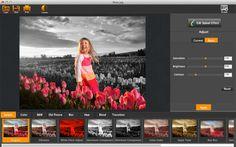 「My Splash Effects」無料セール中! ー 写真にモノクロやカラースプラッシュの効果をつけるアプリ