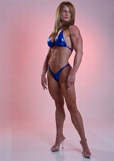 lisa giesbrecht - female fitness competitor