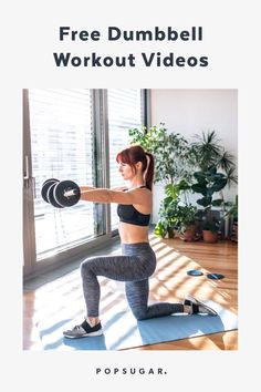Not Sure What to Do With Dumbbells? Try These 10 Strength-Training Workout Videos at Home Home Workout Videos, At Home Workouts, Arm Workouts, Exercise Videos, Workout Tips, Fitness Workouts, Strength Training Workouts, Training Day, Dumbbell Workout