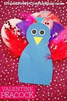 Valentine Art Project Ideas Using Craft Foam Hearts - Glued To My Crafts Valentine's Day Crafts For Kids, Crafts To Do, Easy Crafts, Arts And Crafts, Homemade Valentines, Valentines For Kids, Valentine Day Crafts, Craft Foam, Foam Crafts