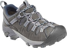 KEEN Men's Targhee II  The Targhee II hiker from The KEEN.Dry membrane creates a waterproof seal. A removable metatomical footbed quickly molds to your foot's shape for personalized comfort. Breathable and durable, the leather and mesh upper. Weight: 16.64 oz/472.58 g.