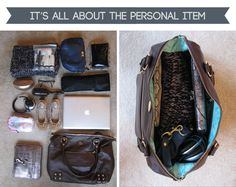 Travel Light - Take A Carry-On. Packing Tips.