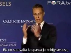 Video: Absoluuttinen todiste, että Alexander Stubb on maanpetoksellinen ja Suomen vihollinen   MV!!??