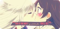 I almost died when Tomoe  did this!