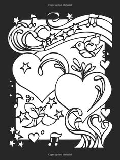 Heart To Stained Glass Coloring Book Dover Publications