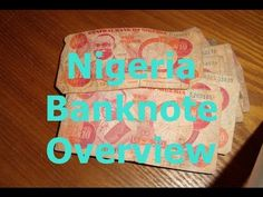 Well Circulated Nigerian 10 Naira Banknotes Early 2000's Series