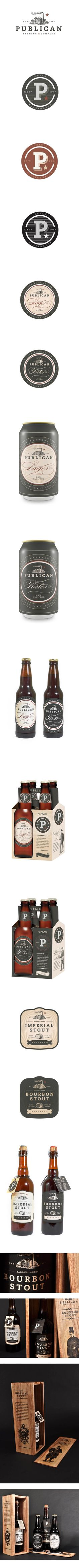 Publican Brewery *** Package Design and Brand identity.