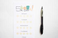 PRINT: 5 A DAY