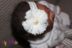 Ivory Vintage by LilyNRoseHeadbands on Etsy, Girls Dresses, Flower Girl Dresses, Baby Headbands, Trending Outfits, Ivory, Unique Jewelry, Handmade Gifts, Wedding Dresses, Flowers