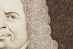 Detail from a self-portrait by Matthias Buchinger, 1724; his hair consists of Psalms and the Lord's Prayer Miniature is one of the refuges of greatness. Gaston Bachelard      Stipple engraving of Matthias Buchinger self-portrait (detail), London, 1724