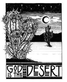 ⊚ ↠ The desert ↞ ⊚