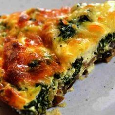 Crustless-Spinach-Onion-and-Feta-Quiche
