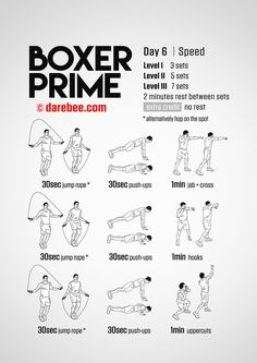 Boxer Prime: 30-Day Fitness Program