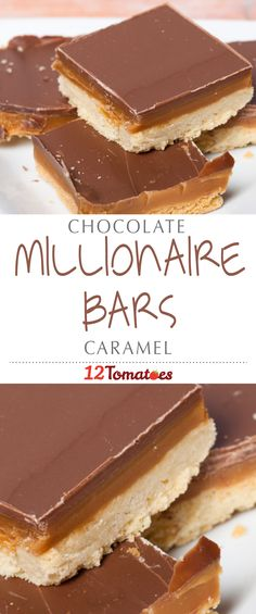 Millionaire Bars | The perfect buttery crust, filled with a deliciously salty, homemade caramel and then topped off with creamy chocolate…this treat is seriously the stuff dreams are made of.