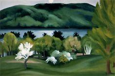 Georgia O'Keeffe, Landscape, 1930, Vogue