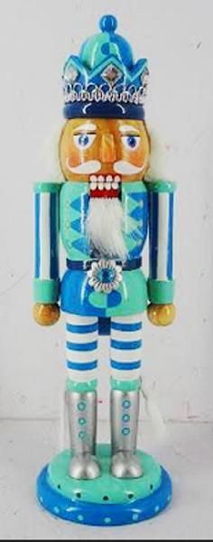 N1023: 10 inch Two Tone Nutcracker - 20 pieces of 10 inch Nutcrackers are included in this order