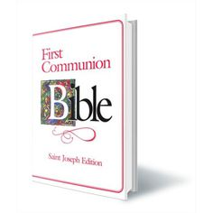 Large First Communion Bible - For Girls