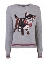 cat jumper, download this press image at prshots.com/press #fashion #top #cat #trend #style #fblogger #fashionblogger