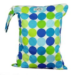 LARGE Zippered Wet Bag  Ocean Breeze FAST SHIPPING by SnuggyBaby, $29.00