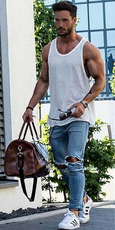 Komplette Outfits, Casual Outfits, Simple Outfits, Casual Wear, Mode Junior, Mens Fashion Summer Outfits, Look Man, Moda Casual, Mode Style