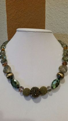 Out on the Town statement necklace