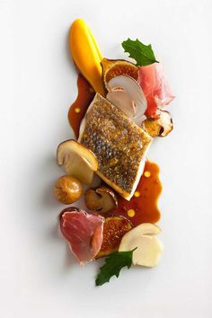 Inspirational plated food by some of the legends in the restaurant world. These chefs / designers take the food canvas to new heights. This one is from Eleven Madison Park.