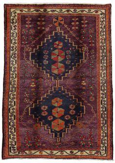 Gabbeh - Qashqai Persian Carpet 195x133