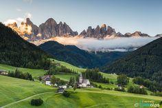 Santa Maddalena - Funes by Francesco Vaninetti on 500px