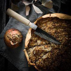 Veganer Zwiebelkuchen mit Seidentofu <3