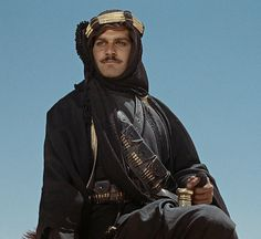 Omar Sharif - Lawrence of Arabia, 1962