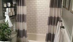 Trendy bathroom shower on a budget curtains ideas Guest Bathrooms, Rustic Bathrooms, Bathroom Ideas, Bathrooms Decor, Decorating Bathrooms, Bathroom Remodeling, Bathroom Things, Bathroom Design Small, Bathroom Interior Design