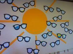* Ieder kind maakt een bril: Wat zie ik door mijn zonnebril....