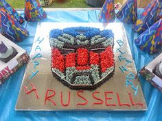 Transformer Birthday Party #Transformers #Birthday #Party {Party Time}