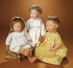 Bread and Roses - Auction - July 26, 2016: 290 American Wooden Toddler by Schoenhut