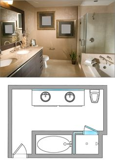 Bathroom Design Ideas From Dulles Glass And Mirror 90 Degree Shower Door