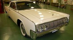 Lyndon B. Johnson's convertible 1964 Lincoln Continental will be sold at auction on March 3. The white limo, with a V-8 430 cid (cubic-inch-displacement) that produces 320 horsepower, has a grand tan interior. Johnson was often seen driving it with the top down and wearing a ten-gallon hat at his 1,500-acre ranch in Stonewall, Texas in the Texas Hill Country. During Johnson's presidency, the ranch became known as the Texas White House.