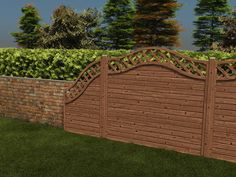 Perfectly frame the garden you have worked tirelessly on with our stylish curved fence panels. The fully planed 12.5mm thick timber is fully Pressure Treated which not only protects the fence against rot and fungal decay for 10 years but results in a smooth natural looking finish rather than the rough unfinished fences that are available on the market today.