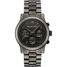 Michael Kors Women's MK5170 Chronograph Gun Metal Ion-Plated Stainless Steel Watch, (best deal, great deal, mens gift, mens watch, michael kors, michael kors watch, watches, casual watch, micheal kors, womens watch)