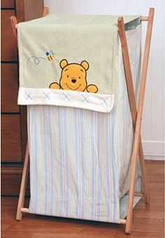 Disney Winnie the Pooh Soft and Fuzzy Clothes Hamper « Clothing Impulse