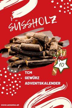 Hinter Türchen 10 meines Gewürz Adventskalenders verbirgt sich das Süßholz. Ich verrate dir die Wirkung von Süßholzsowie ein geniales Rezept in der Podcast-Folge vom Gewürz Adventskalender. #süssholz #gewürzadventskalender #weihnachten #adventskalender