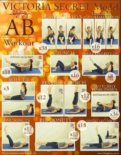 Victoria Secret Ab Workout