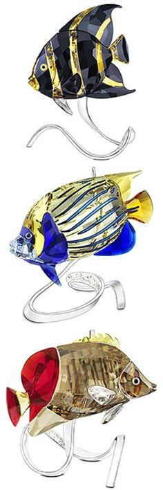 Swarovski fish swimming along - want one in your net?