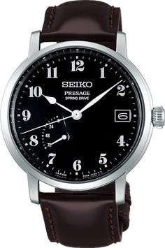 Seiko Presage Watch Mens- Watch Available to buy online. Lux Watches, Seiko Watches, Cool Watches, Watches For Men, Dress Watches, Seiko Presage, Latest Jewellery, Japanese Design, Automatic Watch
