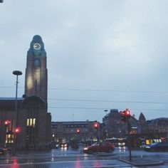 A rainy evening in Helsinki. Finished my week of 5 work shifts combined with school and am now so ready for a little break.   I love Helsinki. Every time I walk these streets I just think, how cool is this place to live. How a city can be so cosy and tiny but yet very surprising and growing