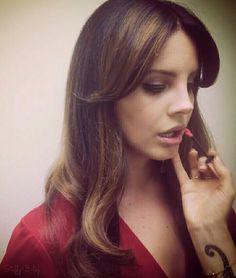 Lana Del Rey and her makeup artist Pammie Cochrane #LDR #Endless_Summer_Tour