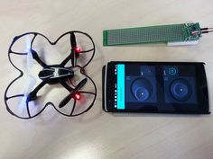 Control quadcopter from your phone in 30 minutes! ( #ESP8266 + A7105 + Blynk App for iOS/Android)