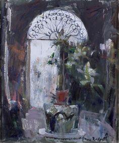 Anne Redpath (1895-1965), Courtyard in Venice (n.d.), oil on canvas, 50.8 x 61 cm. Via BBC.